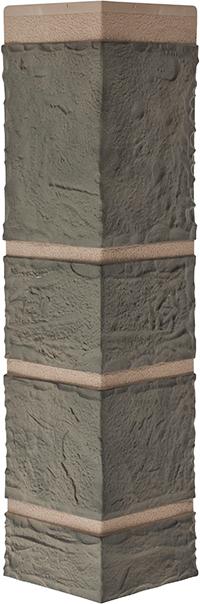 Угол камень Малахит 472 x 112 x 31 mm Альта Профиль