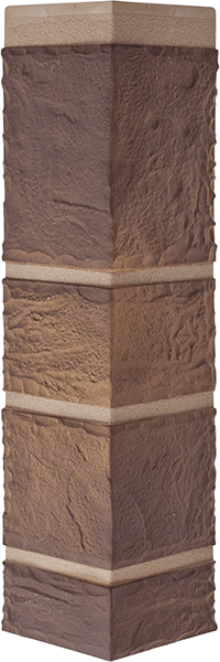 Угол камень Сланец 472 x 112 x 31 mm Альта Профиль