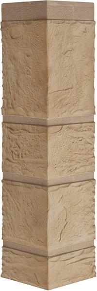 Угол камень желтый 472 x 112 x 31 mm Альта Профиль