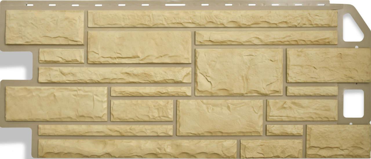 Панель камень Желтый размер: 1135х474x23 мм