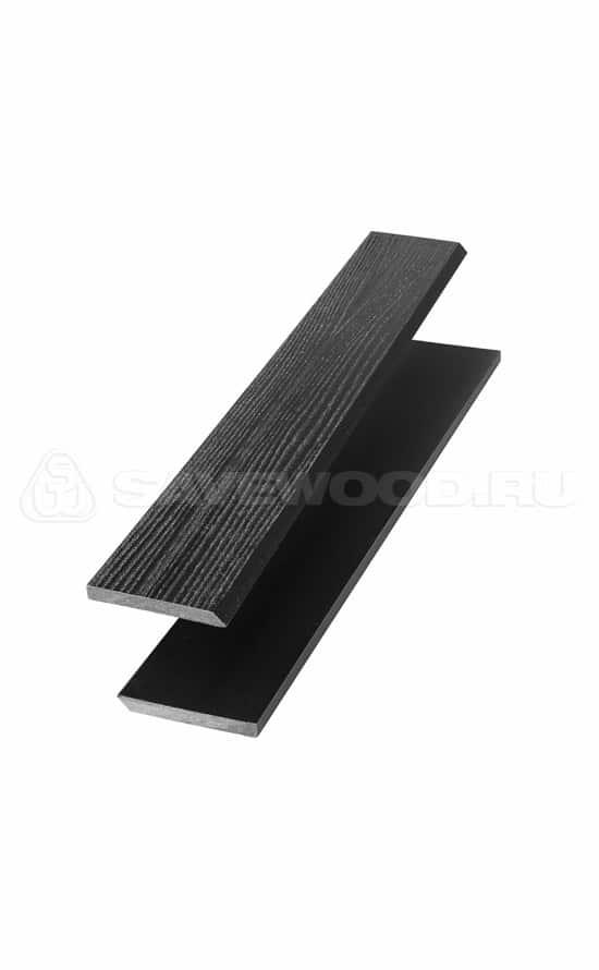 Торцевая рейка черная