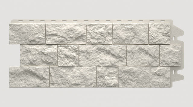 Фасадная панель Docke FELS Горный хрусталь 1052x425x30 mm