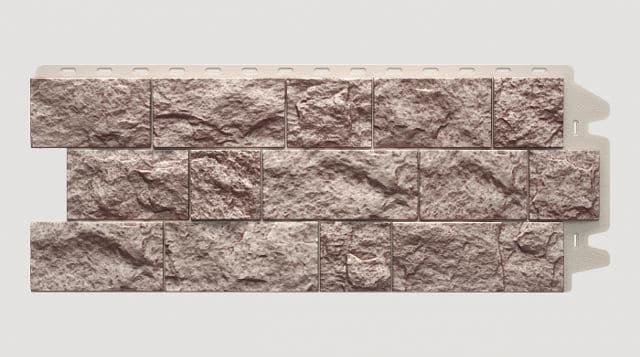 Фасадная панель Docke FELS Перламутровый 1052x425x30 mm