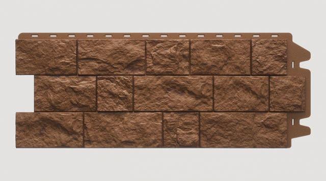 Фасадная панель Docke FELS Ржаной 1052x425x30 mm