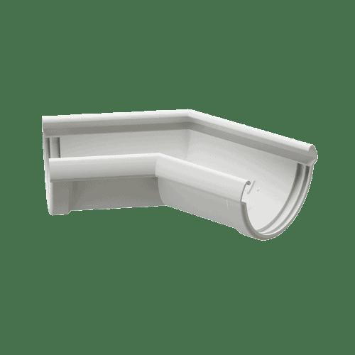 Docke Водостоки LUX Угол 135 (ПЛОМБИР)
