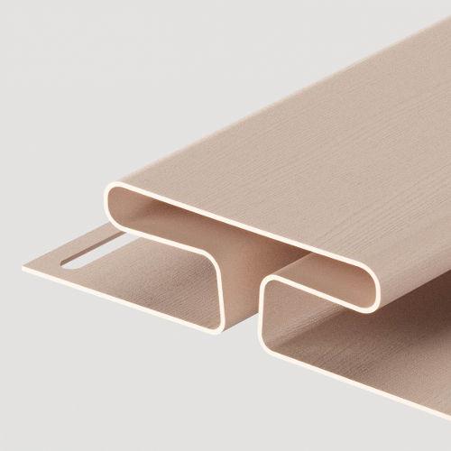 Docke H-профиль 13 мм Крем-брюле