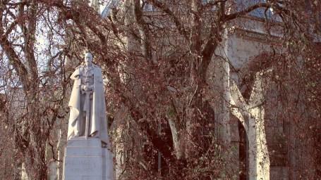 Statue of King George V Base Image