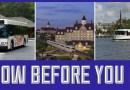 ¿Cuánto tiempo se necesita para viajar al usar el transporte de Disney?
