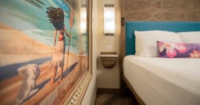 ¡Imágenes de nuevas habitaciones con temática de Moana en el Polynesian Village Resort!