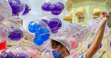 Terminó el viaje, ¿qué hacer con los globos de Disney?