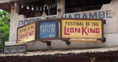 "GRANDES cambios en ""A Celebration of Festival of the Lion King"" en Animal Kingdom"