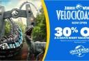 Se ha extendido la oferta de 30% en paquetes de 4 días, 4 noches a Universal Orlando