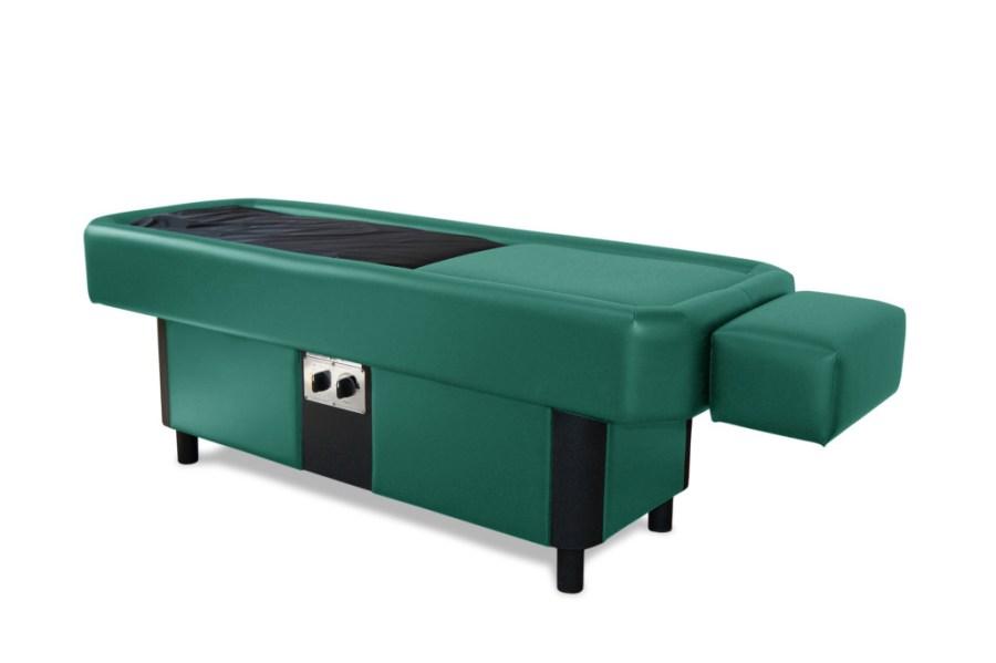 green hydromassage table