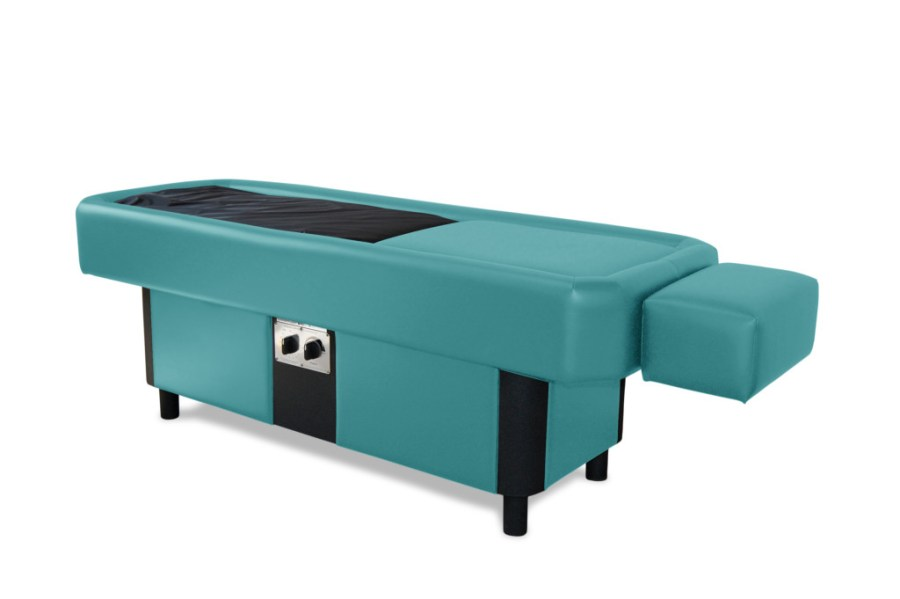 teal hydromassage table