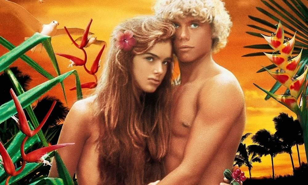 """Poster for the movie """"The Blue Lagoon"""""""