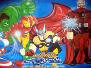 painel_os_vingadores_sidneiart_02