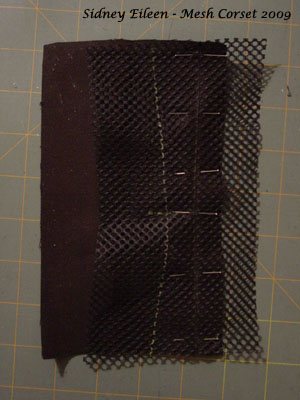 How to Make a Sport Mesh Corset - 04, by Sidney Eileen