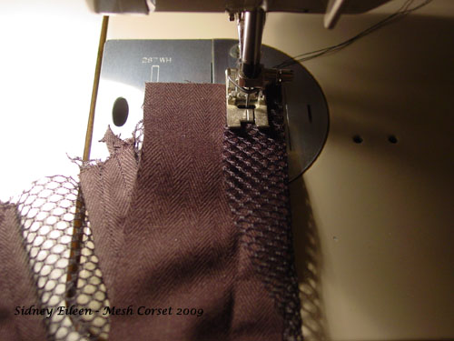 How to Make a Sport Mesh Corset - 08, by Sidney Eileen