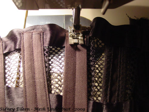 How to Make a Sport Mesh Corset - 23, by Sidney Eileen