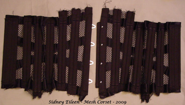 How to Make a Sport Mesh Corset - 30, by Sidney Eileen