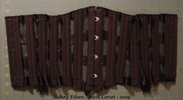 How to Make a Sport Mesh Corset - 31, by Sidney Eileen