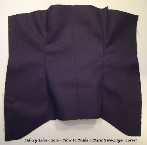 How to Make a Basic Two-Layer Coutil Corset, by Sidney Eileen