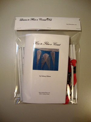 Learn to Floss a Corset Kit, by Sidney Eileen