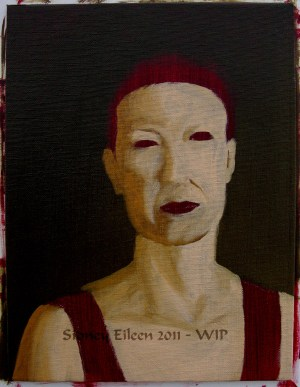 Title: Diana - Commission - WIP1, Artist: Sidney Eileen