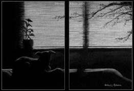 Title: Yasha - Dyptich, Artist: Sidney Eileen, Medium: oils on canvas boards