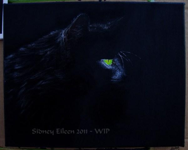 Title: Familiar - WIP4, Artist: Sidney Eileen