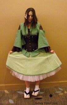 Wa-Loli in Green, by Sidney Eileen