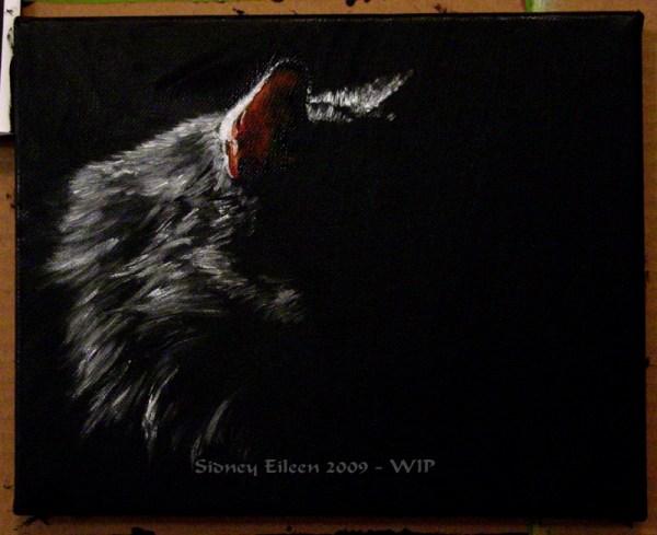 Title: Familiar - WIP1, Artist: Sidney Eileen