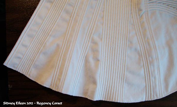 How to Make a Corded Regency Corset, by Sidney Eileen