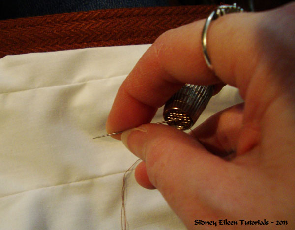 How to Make a Floating Corset Lining, by Sidney Eileen