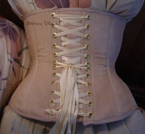 Plain Tea-Stained Underbust, Seamstress: Sidney Eileen