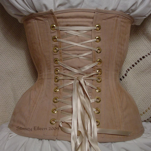 """Rag Doll"" Underbust - Back View, by Sidney Eileen"
