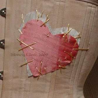 """Rag Doll"" Underbust - Detail - Heart, by Sidney Eileen"