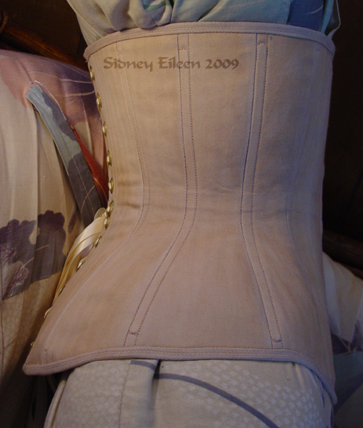 Plain Tea-Stained Underbust, Seamstress: Sidney Eileen