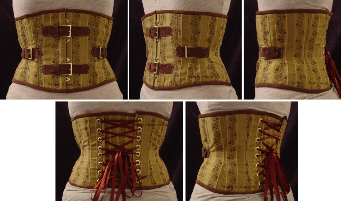 Brocade and Leather Steam - All Views, by Sidney Eileen