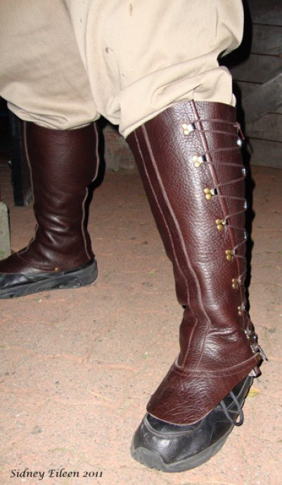 Leather Gaiters, by Sidney Eileen