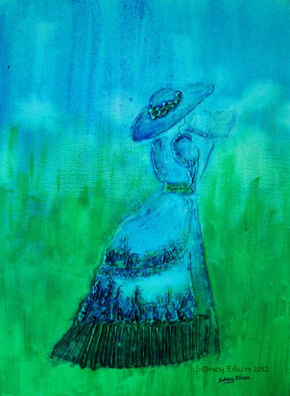Title: Springtime Stroll, Artist: Sidney Eileen