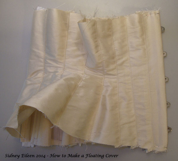 How to Make a Floating Corset Cover - 12, by Sidney Eileen