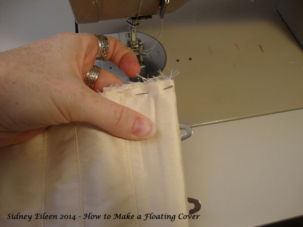 How to Make a Floating Corset Cover - 13, by Sidney Eileen