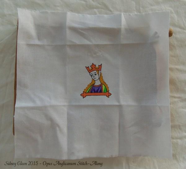 Opus Anglicanum Stitch-Along 01, by Sidney Eileen