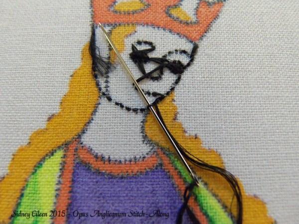 Opus Anglicanum Stitch-Along 037, by Sidney Eileen
