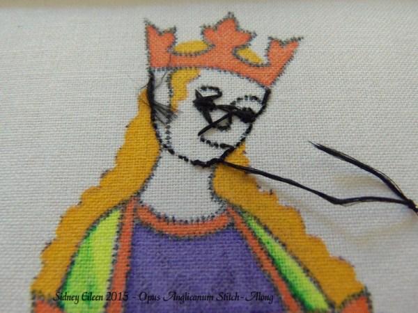 Opus Anglicanum Stitch-Along 039
