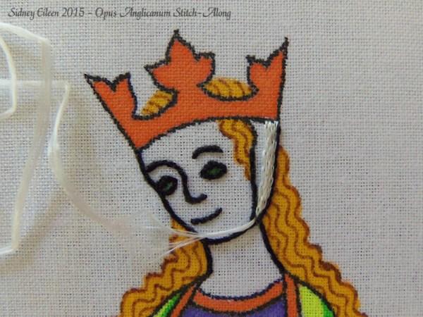 Opus Anglicanum Stitch-Along 049, by Sidney Eileen
