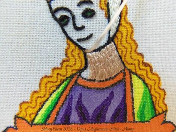 Opus Anglicanum Stitch-Along 063, by Sidney Eileen