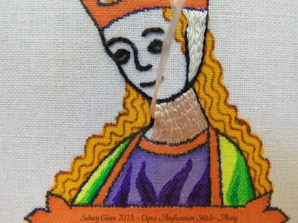 Opus Anglicanum Stitch-Along 065, by Sidney Eileen