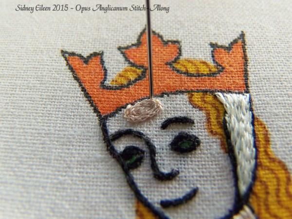 Opus Anglicanum Stitch-Along 082, by Sidney Eileen